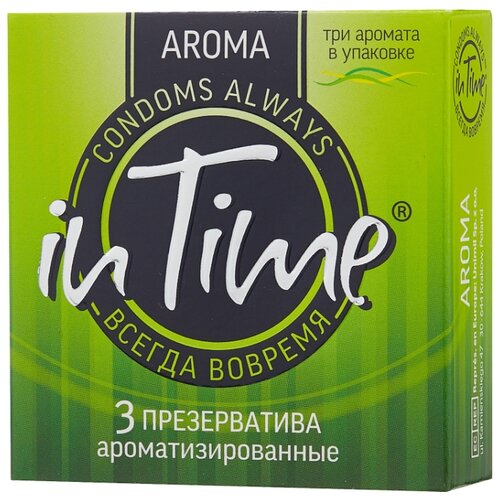 Презервативы in Time Aroma 3 шт. doin time in times square