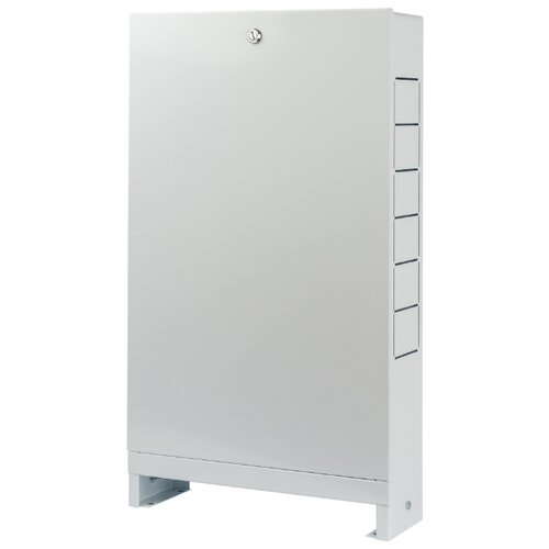Коллекторный шкаф наружный STOUT ШРН-0 SCC-0001-000013 белый шкаф распределительный stout встроенный 1 3 выхода шрв 0 670х125х404 мм scc 0002 000013