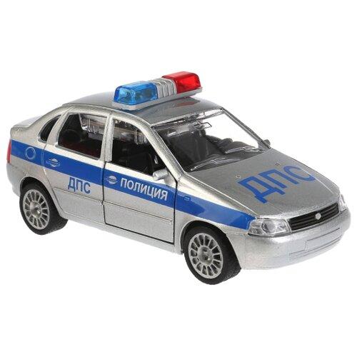 цена на Легковой автомобиль ТЕХНОПАРК Lada Kalina ДПС (CT-1049WB-11) 1:32 серебристый
