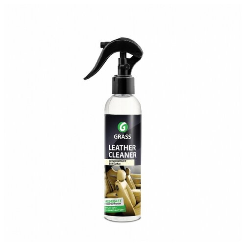 GraSS Кондиционер для кожи салона автомобиля Leather Cleaner (148250), 0.25 л lavr очиститель кожи leather cleaner для салона автомобиля ln1470 l 0 185 л бесцветный