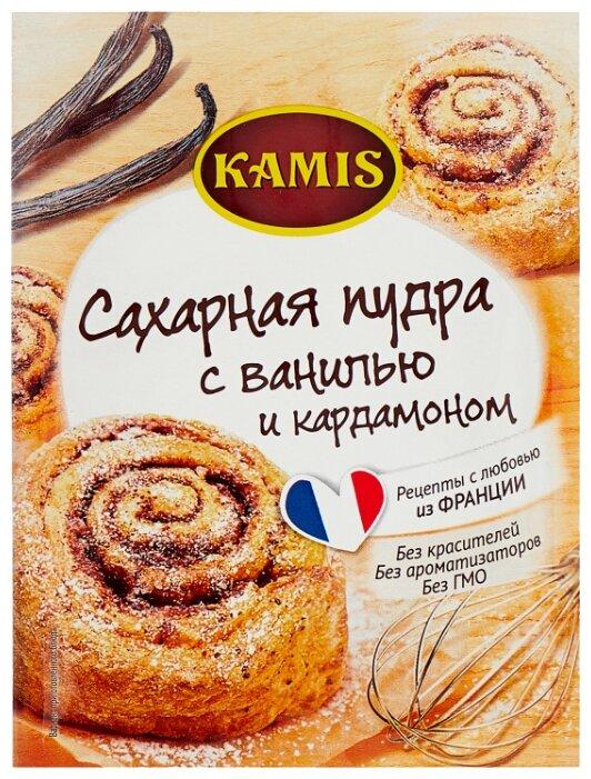 KAMIS Сахарная пудра с ванилью и кардамоном