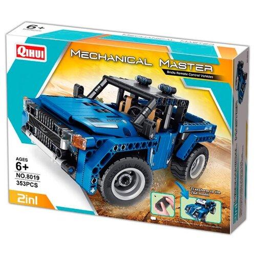 Купить Электромеханический конструктор QiHui Mechanical Master 8019 Реактивные Силачи 2 в 1, Конструкторы