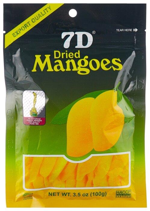 Сушеные манго 7D 100гр