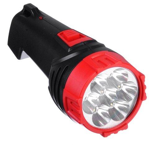 Ручной фонарь Чингисхан 224-012 черно-красный