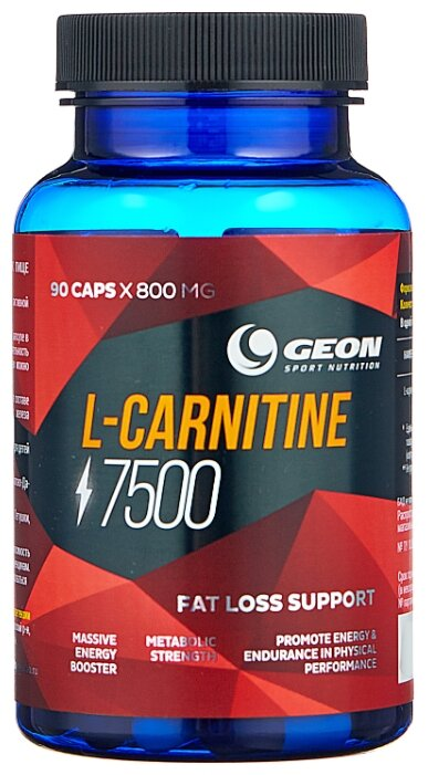 GEON L-карнитин 7500 (90 шт.) нейтральный