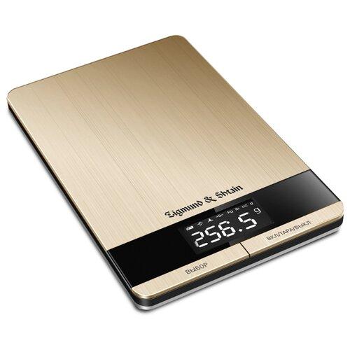 Кухонные весы Zigmund & Shtain Kuchen-Profi DS-116 бронзовый