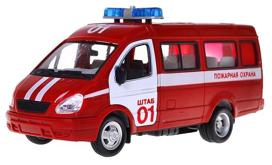 Микроавтобус Play Smart Автопарк 3221 Пожарная охрана (9098-A) 1:27... — купить по выгодной цене на Яндекс.Маркете