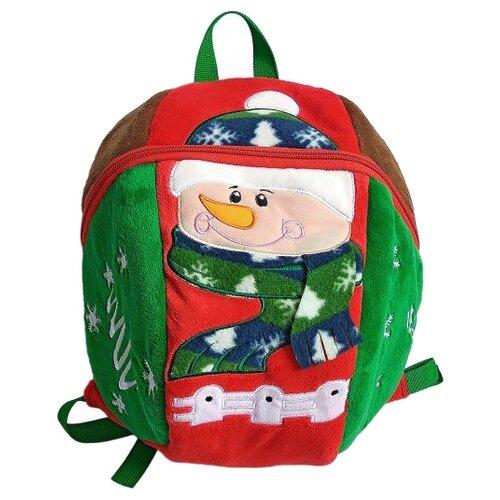 Shantou Gepai рюкзак Снеговик, зеленый/красный мяч shantou gepai арифметика зеленый желтый