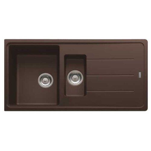 Врезная кухонная мойка 97 см FRANKE BFG 651 шоколад