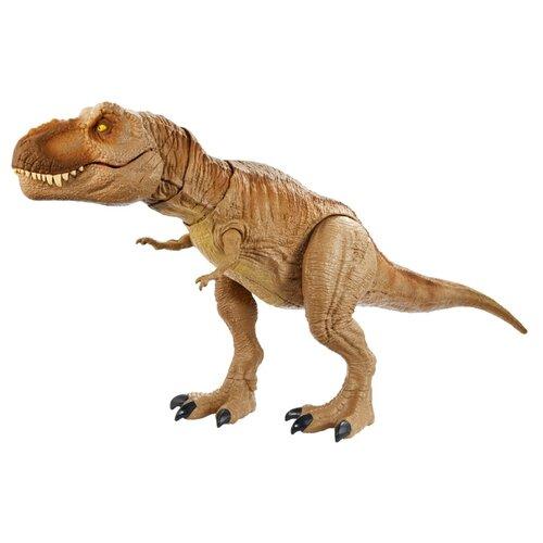 Купить Фигурка Mattel Jurassic World Рычащий Ти-Рекс GJT60, Игровые наборы и фигурки