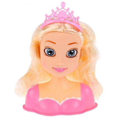 Фото - Кукла-манекен Карапуз Принцесса в розовом платье, B1669141-21-RU кукла манекен карапуз с набором косметики и аксесс д волос в ассорт в русс кор в кop 24шт
