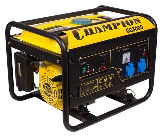 Бензиновый генератор CHAMPION GG3000 (2300 Вт)