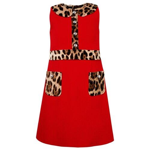 Платье DOLCE & GABBANA размер 110, красный