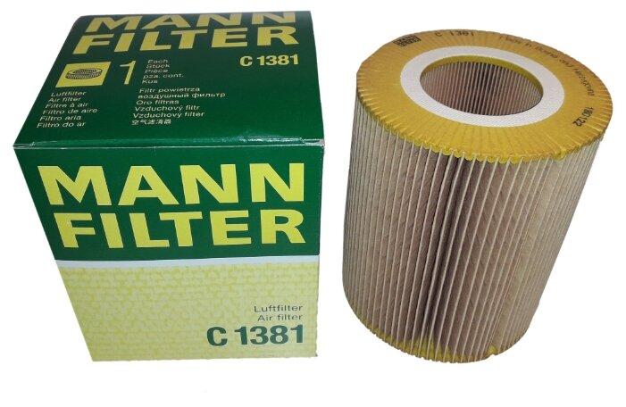 Цилиндрический фильтр MANNFILTER C1381