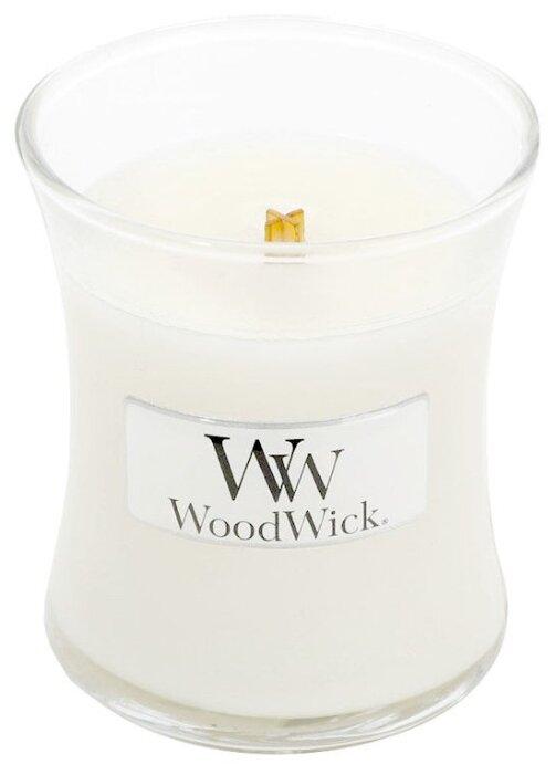 Свеча WoodWick White Teak (98039), маленькая