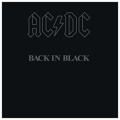 AC/DC. Back In Black. Limited Edition (LP) david gilmour on an island limited edition lp