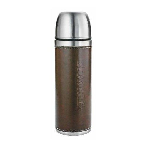 Классический термос Biostal NYP-500P (0,5 л) серебристый/коричневый
