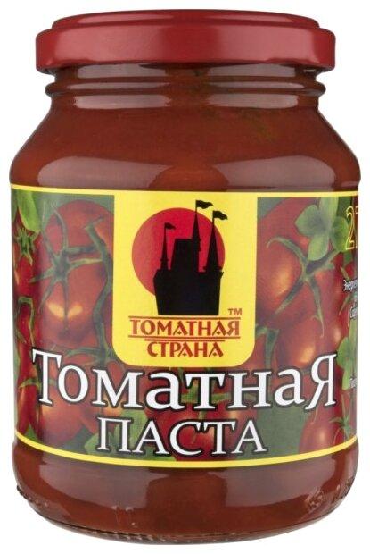 Томатная страна Паста томатная