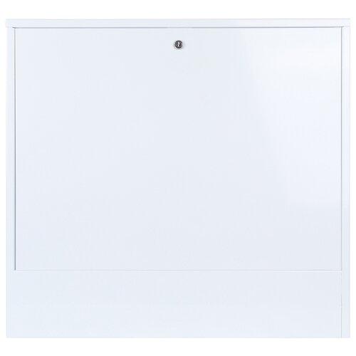 Коллекторный шкаф наружный STOUT ШРНУ-180-3 SCC-0003-000810 белый шкаф распределительный stout встроенный 1 3 выхода шрв 0 670х125х404 мм scc 0002 000013