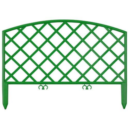 Забор декоративный GRINDA Плетень, зеленый, 3.2 х 0.24 м