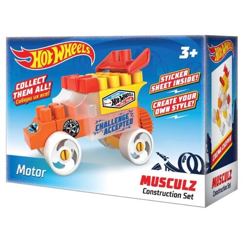 Купить Конструктор Bauer Hot Wheels 712 Musculz G Motor, Конструкторы