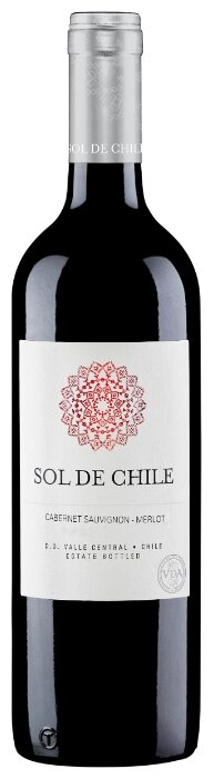 Вино Sol de Chile Cabernet Sauvignon Merlot 0.75 л по выгодной ...