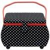 Шкатулка Prym для рукоделия Polka Dots 32х20.5х20 см