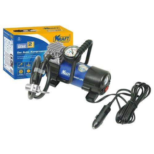 Автомобильный компрессор KRAFT КТ 800027 Power Life BASIC синий/черный