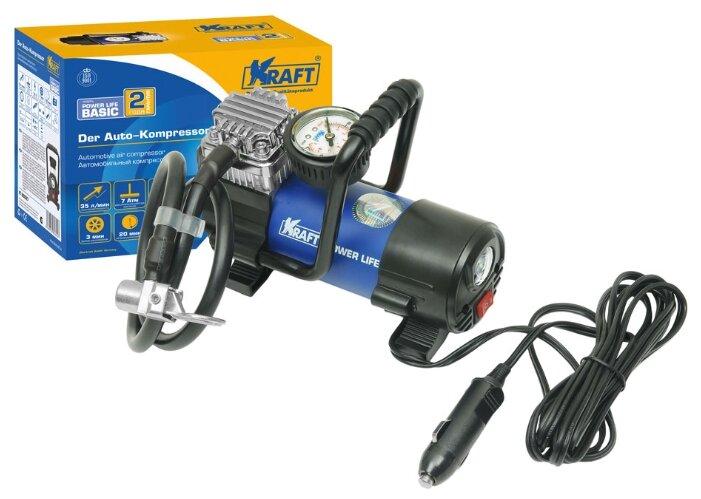 Автомобильный компрессор KRAFT КТ 800027 Power Life BASIC