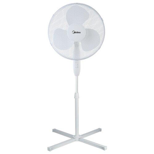 Напольный вентилятор Midea FS 4050 white