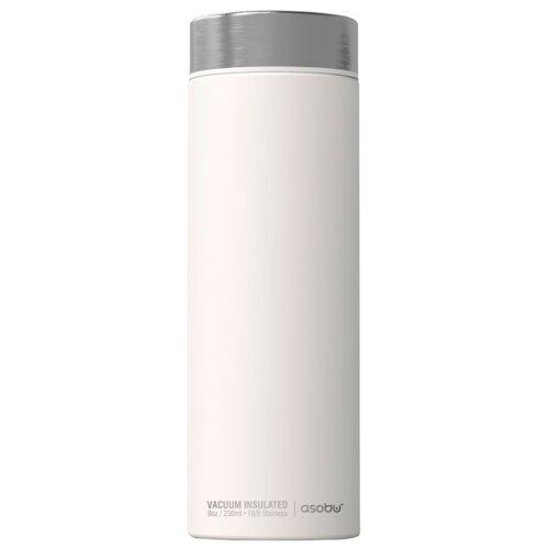 Классический термос asobu Le baton travel (0,5 л) белый/серебристый