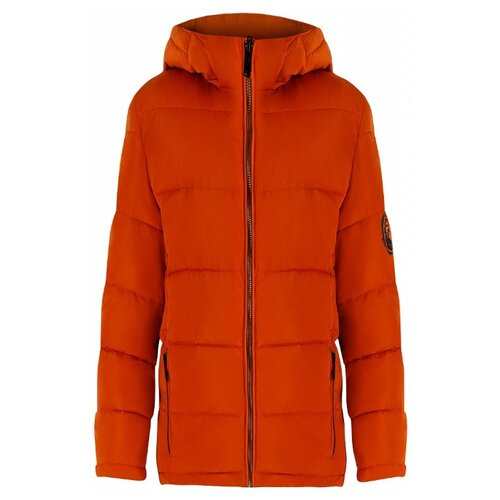 цена Куртка FiNN FLARE KA19-81003 размер 14-164, коричневый (619) онлайн в 2017 году