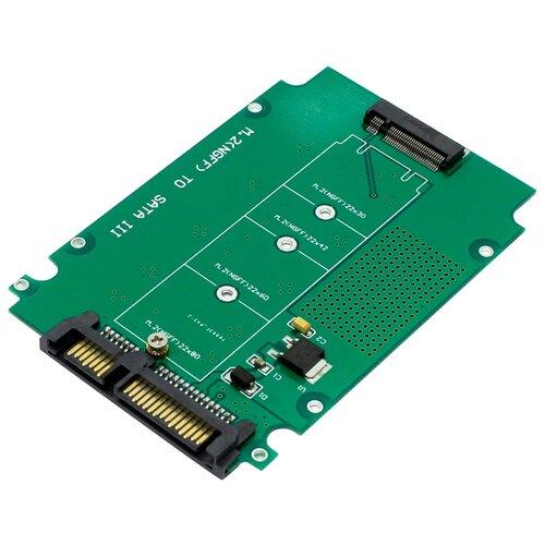 Купить Переходник ESPADA M.2 NGFF - SATA III (M2S900) зеленый
