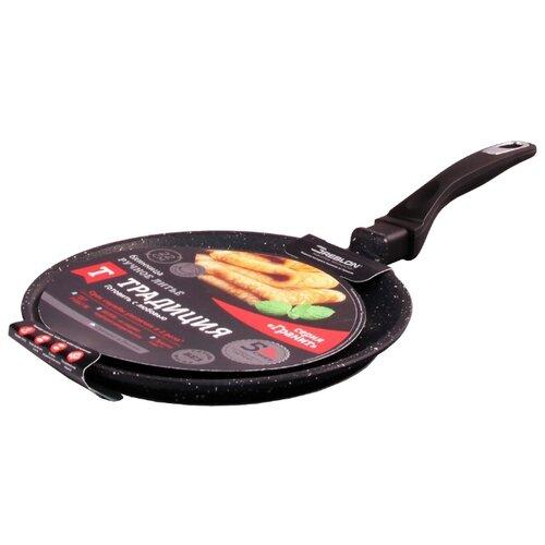 Сковорода блинная Традиция Традиция ТГ6241 24 см, черный бальзам для волос традиция традиция tr035lwebgh1