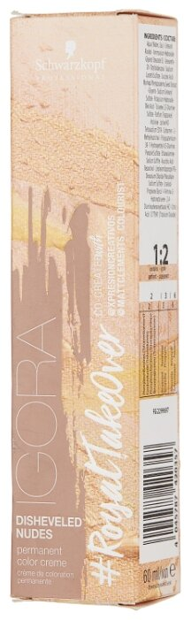Schwarzkopf Professional Igora Royal Take Over краситель для волос Disheveled Nudes, 60 мл