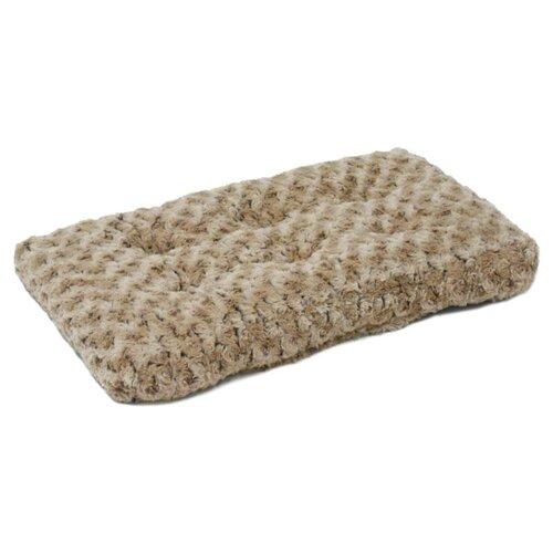 Лежак для собак и кошек Midwest QuietTime Deluxe Ombre Swirl 53х31 см taupe to mocha