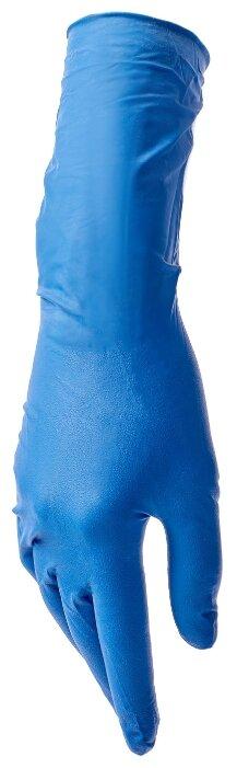 Перчатки смотровые Benovy Latex High Risk