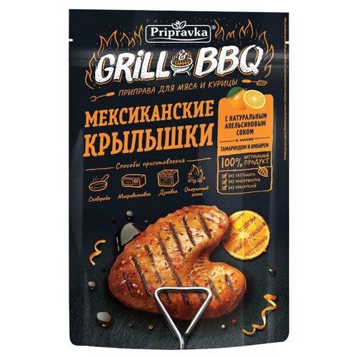 Приправка Grill&BBQ Приправа для мяса и курицы Мексиканские крылышки, 30 г