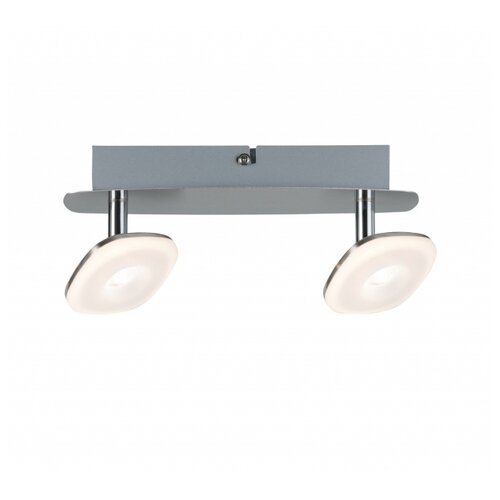 Настенный светильник Spotlight Squarelense 2x5W Ni 230V Mt/Ac 66651 светильник spotlight teja max1x10w gu10 ni sat mt