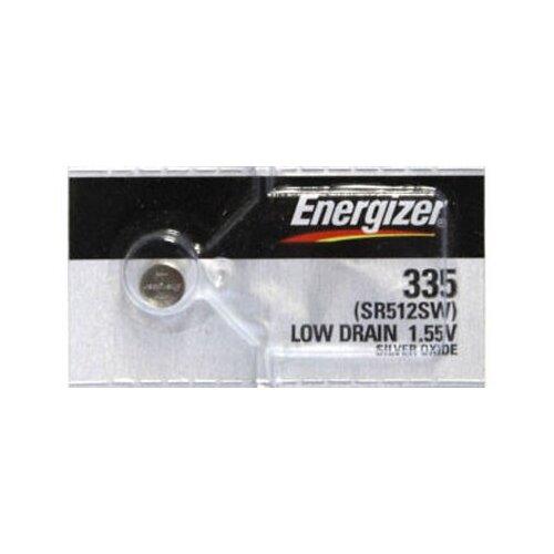 Фото - Батарейка Energizer Silver Oxide 335 (1 штука) батарейка energizer max plus aa 4 шт