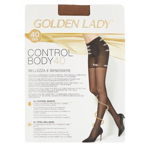 Колготки Golden Lady Control Body, 40 den, размер 3-M, daino (бежевый) колготки golden lady armonia 40 den размер 3 m daino бежевый