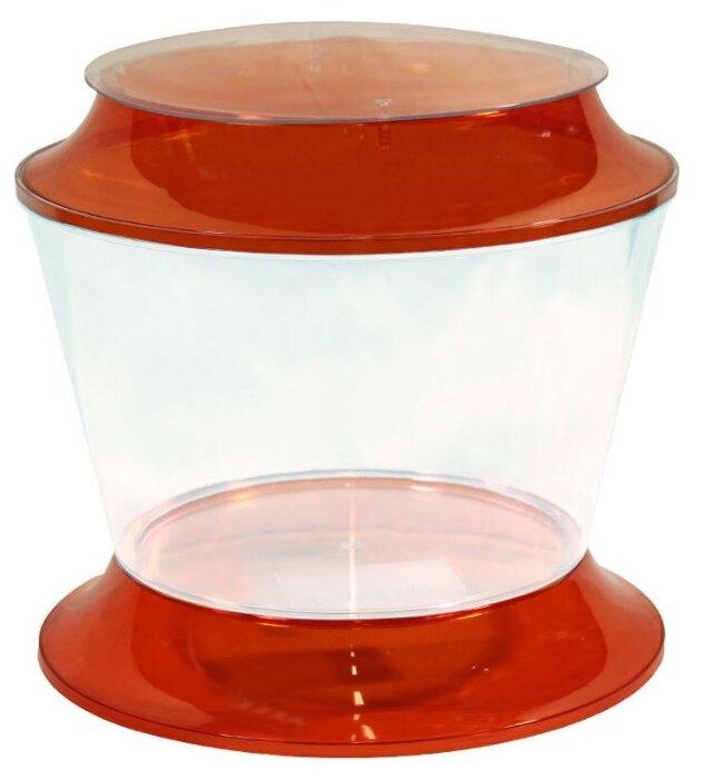 Аквариумный набор 17 л (крышка, подставка) AA Aquarium Gold Fish Bowl