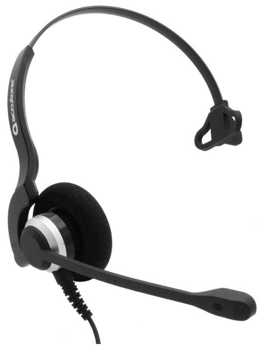 Проводная гарнитура Accutone TM910 QD черный/серебристый фото 1