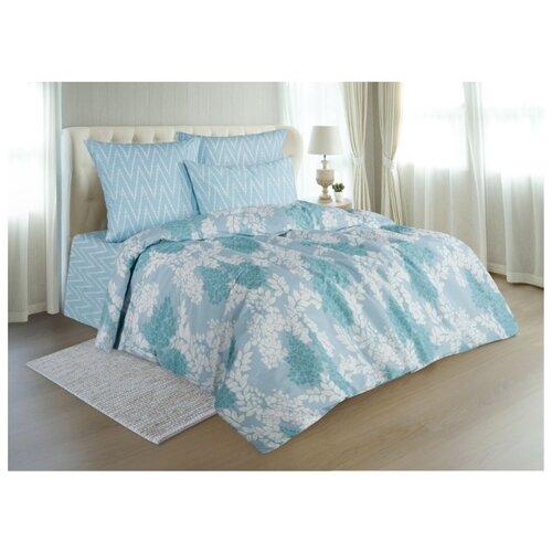 Постельное белье 2-спальное макси Guten Morgen 909 70х70 см, поплин голубой одеяло guten morgen поплин 140х205 см