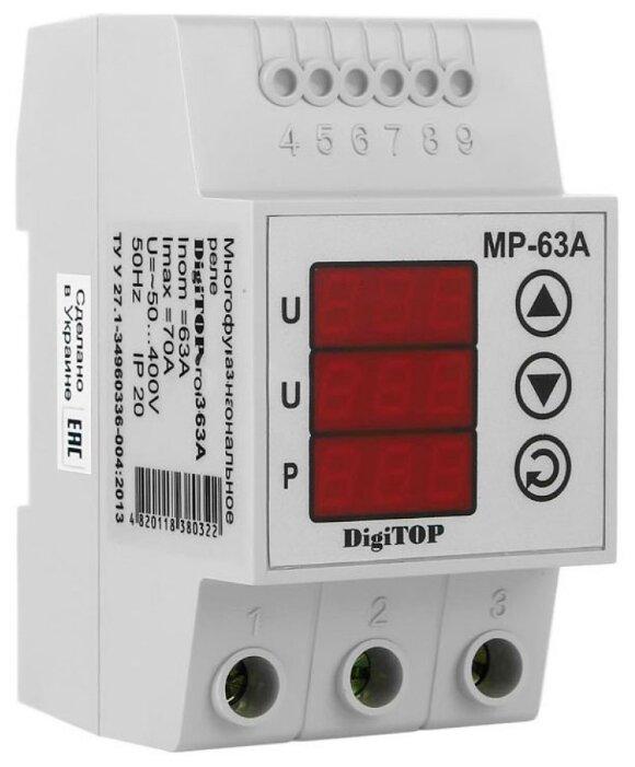 Реле контроля напряжения Digitop MP-63А