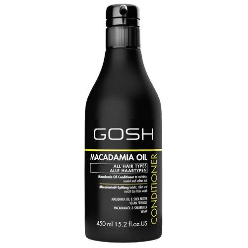GOSH кондиционер Macadamia Oil с маслом макадамии, 450 мл gosh macadamia oil shampoo