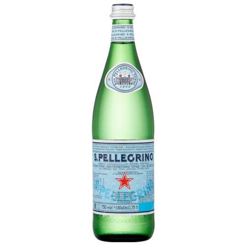 Минеральная вода San Pellegrino газированная, стекло, 0.75 л