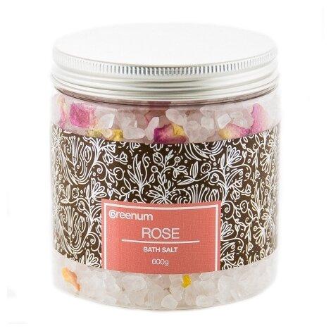 Greenum Bath Salt Соль для ванн Rose,
