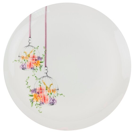 Luminarc Тарелка обеденная Flore 27 см белый
