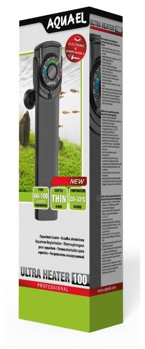 Цилиндрический нагреватель AQUAEL ULTRA HEATER 100W (60-100 л)